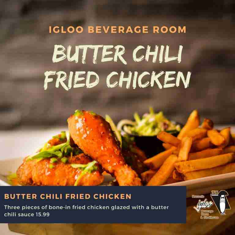 Butter Chili Fried Chicken