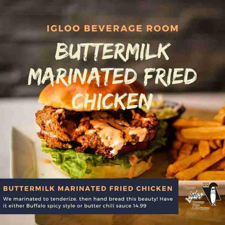 Buttermilk Marinated Fried Chicken
